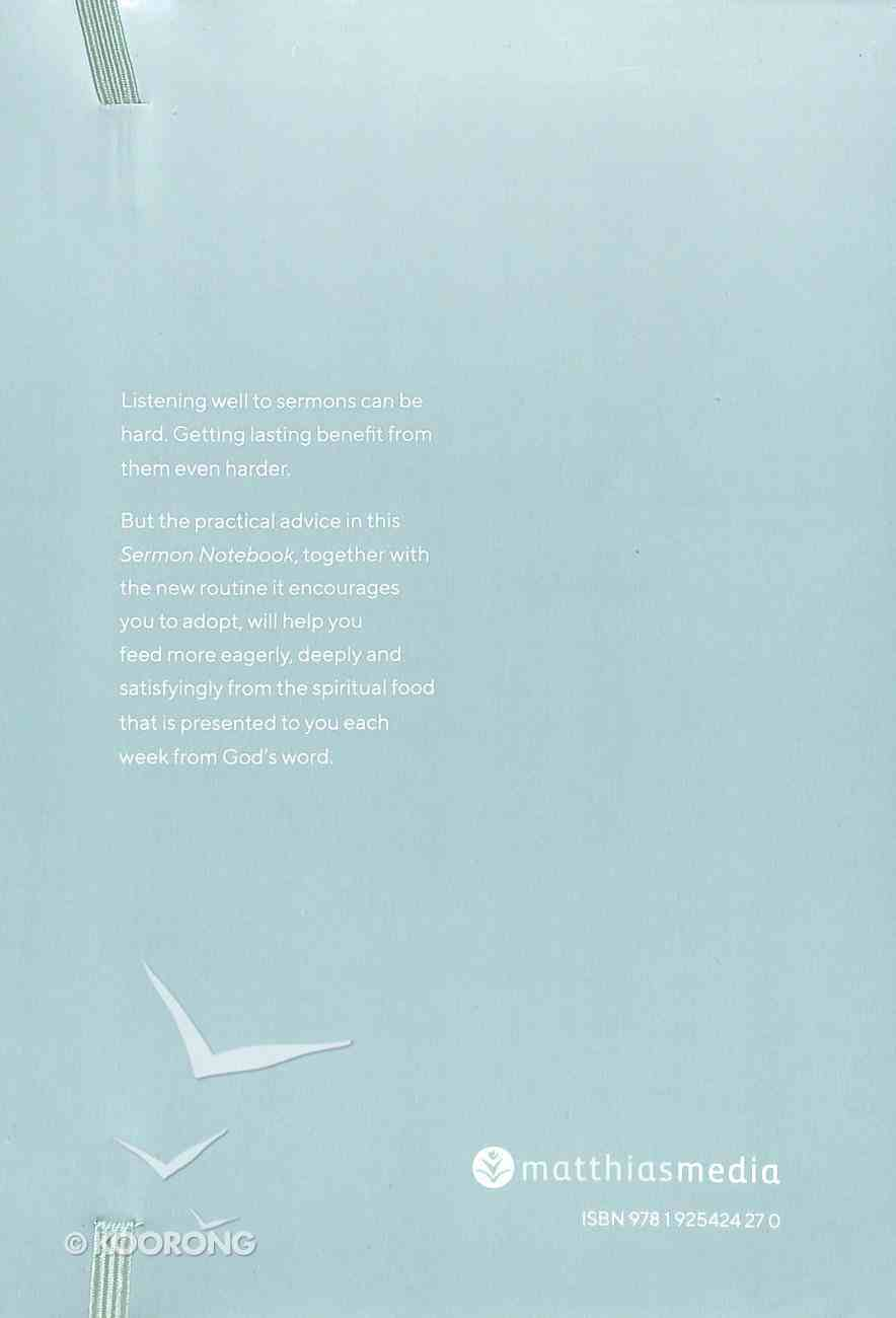 Sermon Notebook (Teal With Elastic Closure) Paperback