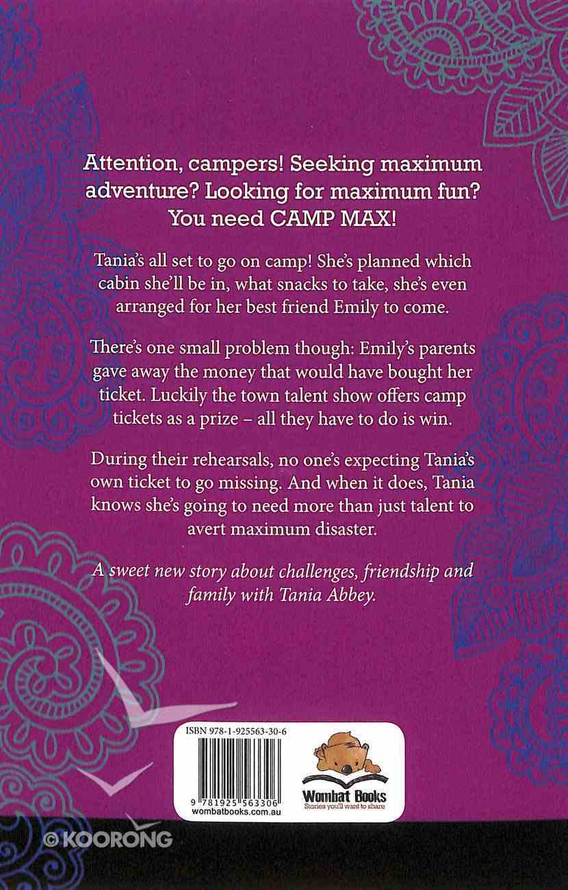 Camp Max (Tania Abbey Adventure Series) Paperback