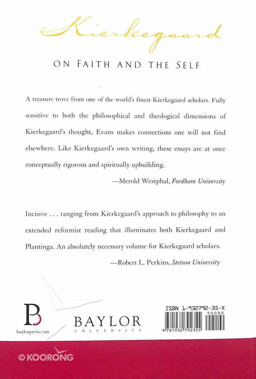 Kierkegaard on Faith and the Self: Collected Essays Hardback
