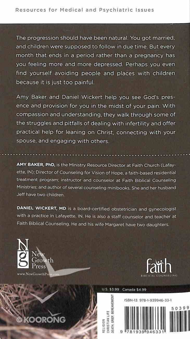 Infertility: Comfort For Your Empty Arms and Heavy Heart (Christian Counselling & Educational Foundation Series) Booklet