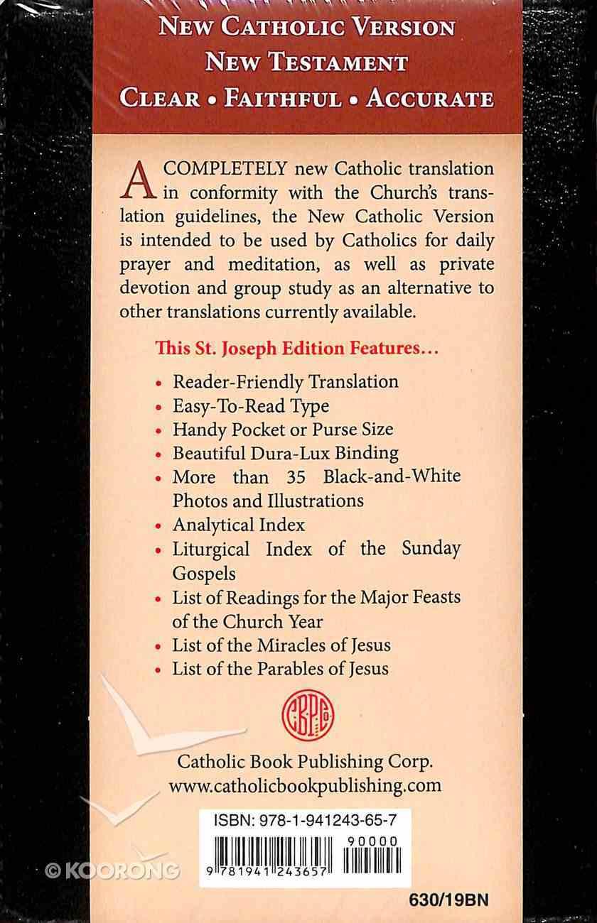 New Catholic Version St. Joseph Edition New Testament Brown Imitation Leather
