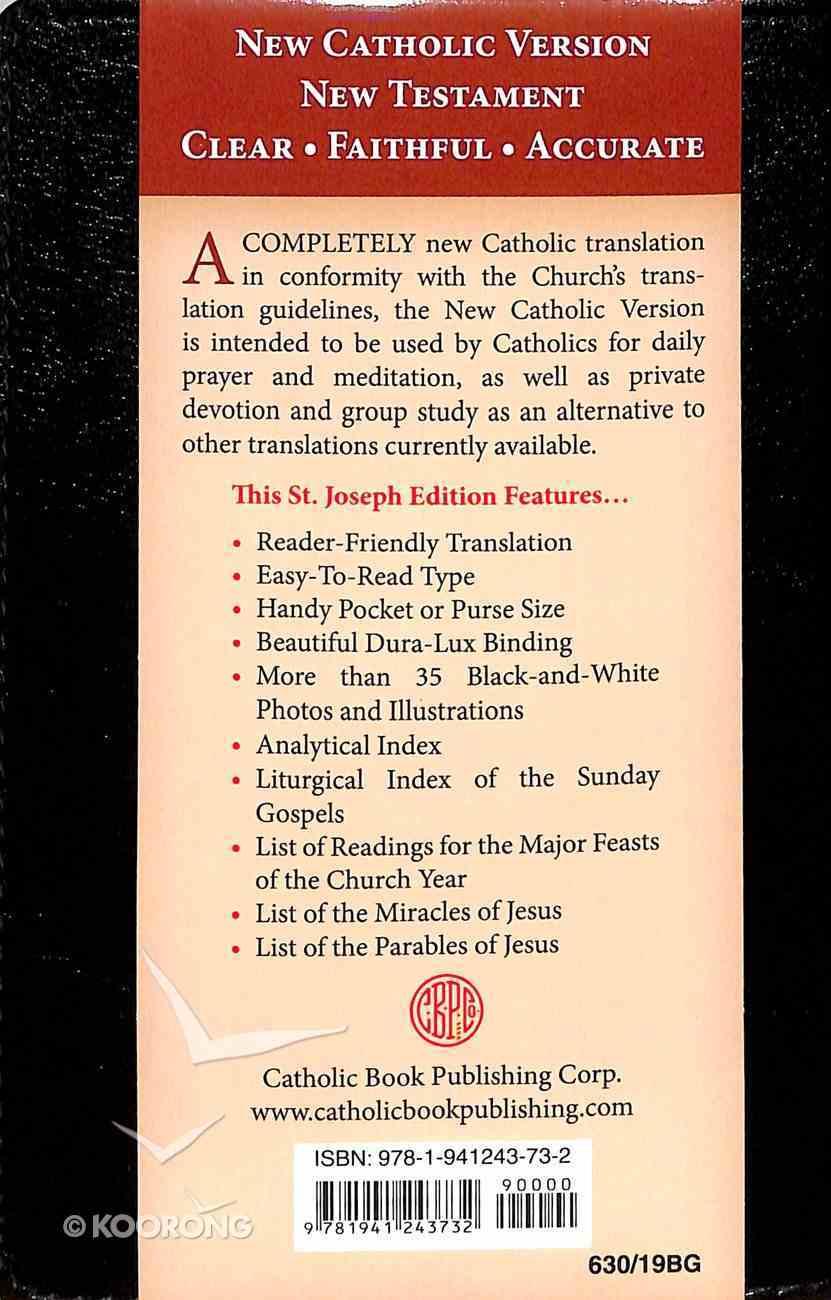New Catholic Version New Testament Burgundy Imitation Leather