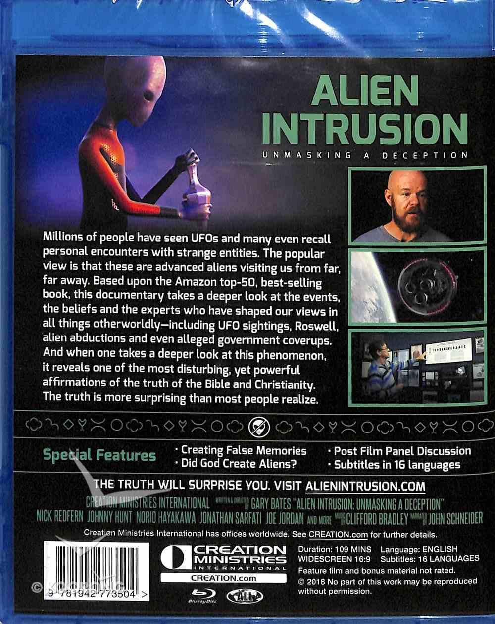 Alien Intrusion: Unmasking a Deception (Blu-ray) Blu-ray Disc