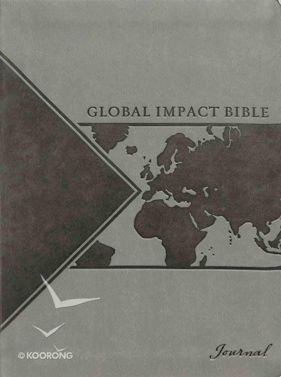 Leatherluxe Journal: Global Impact Bible Journal Imitation Leather