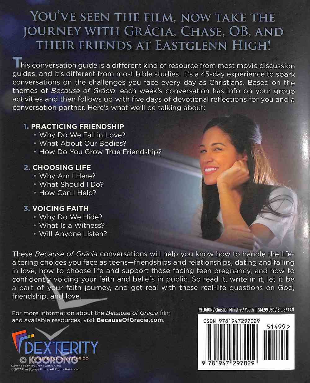 Because of Gracia Paperback