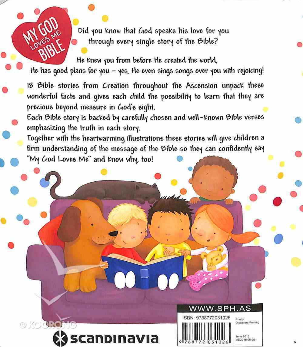 My God Loves Me Bible (With Handle) Board Book