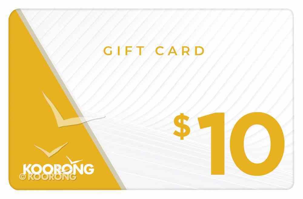 Koorong Gift Card $10.00 Gift Card