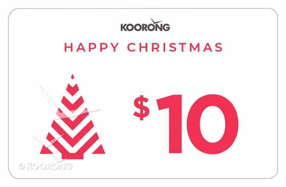 Christmas Gift Card $10 Gift Card
