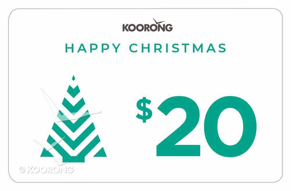 Christmas Gift Card $20 Gift Card