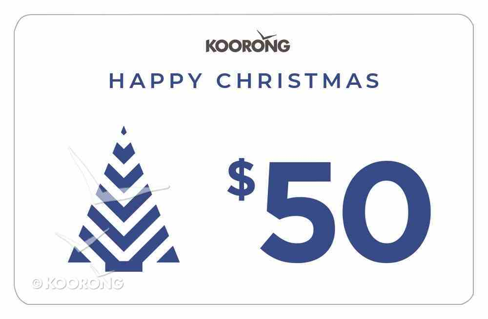 Christmas Gift Card $50 Gift Card