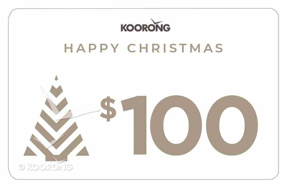 Christmas Gift Card $100 Gift Card