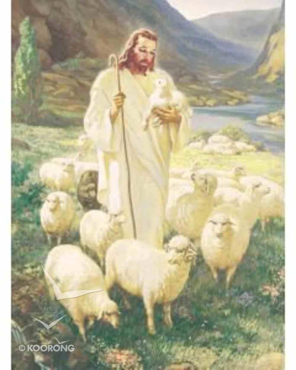 Warner Sallman: Good Shepherd Canvas Print Plaque