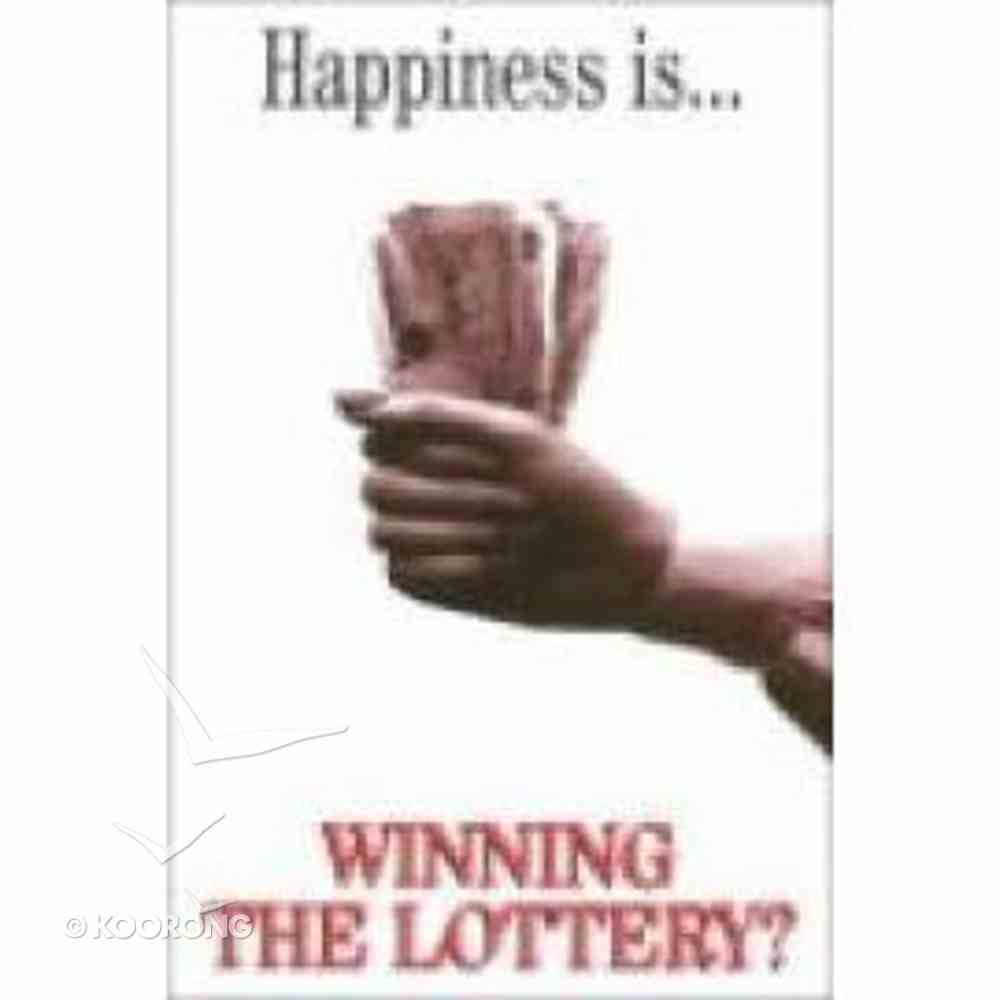 Happiness is Winning the Lottery (100 Pack) Booklet