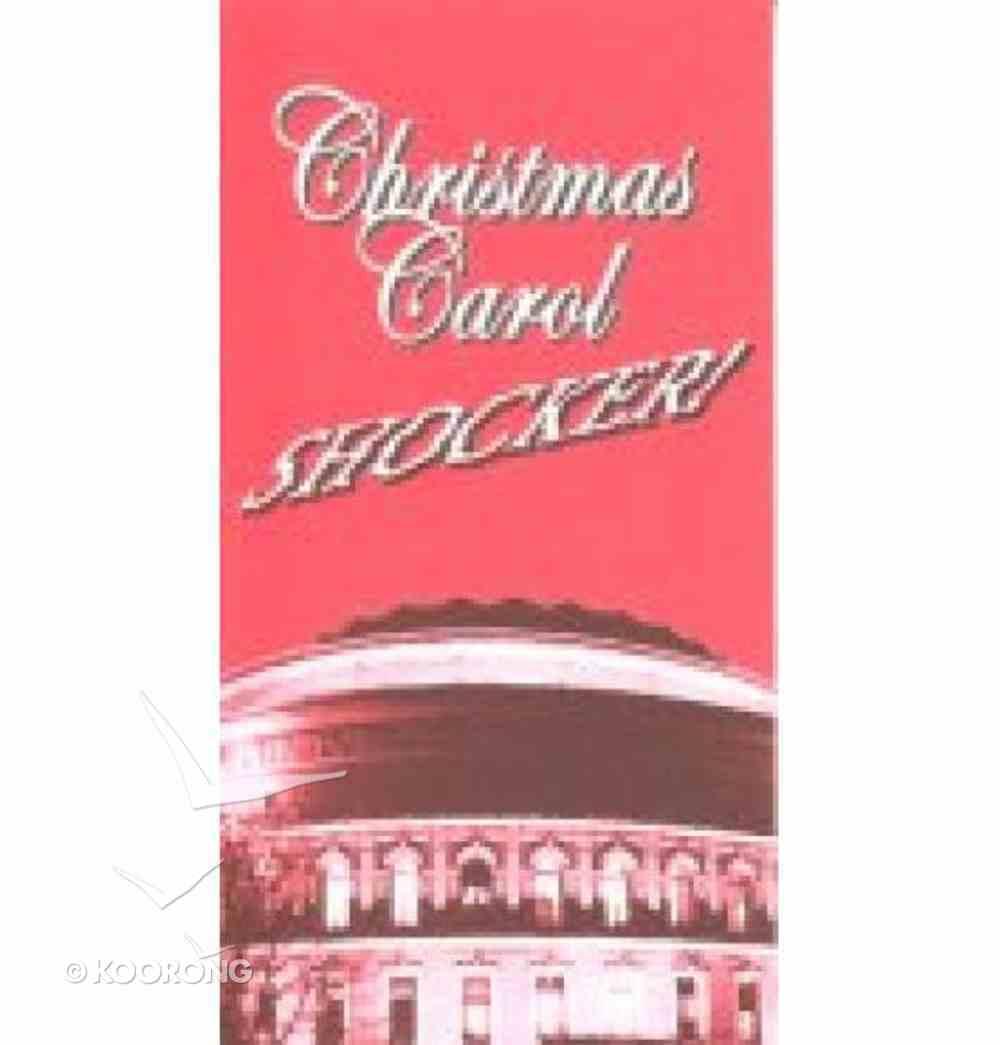 Christmas Carol Shocker (100 Pack) Booklet