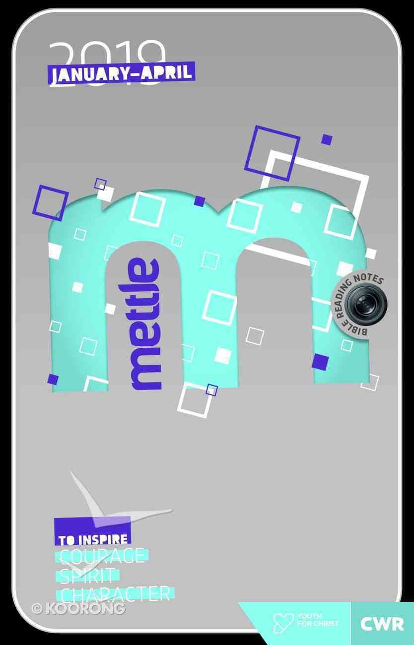 EDWJ: Mettle 2019 #01: Jan-Apr (Ages 14-18) Paperback