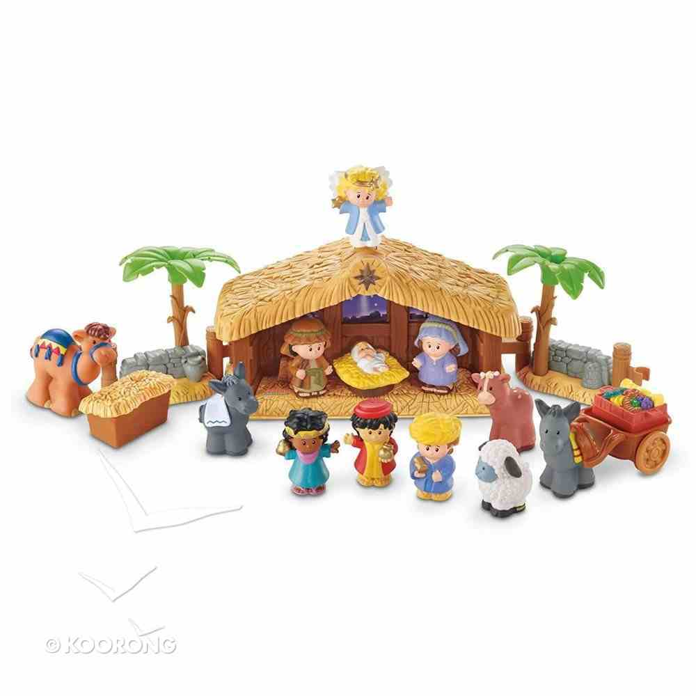Fisher-Price Little People Christmas Story Nativity Gift Set General Gift