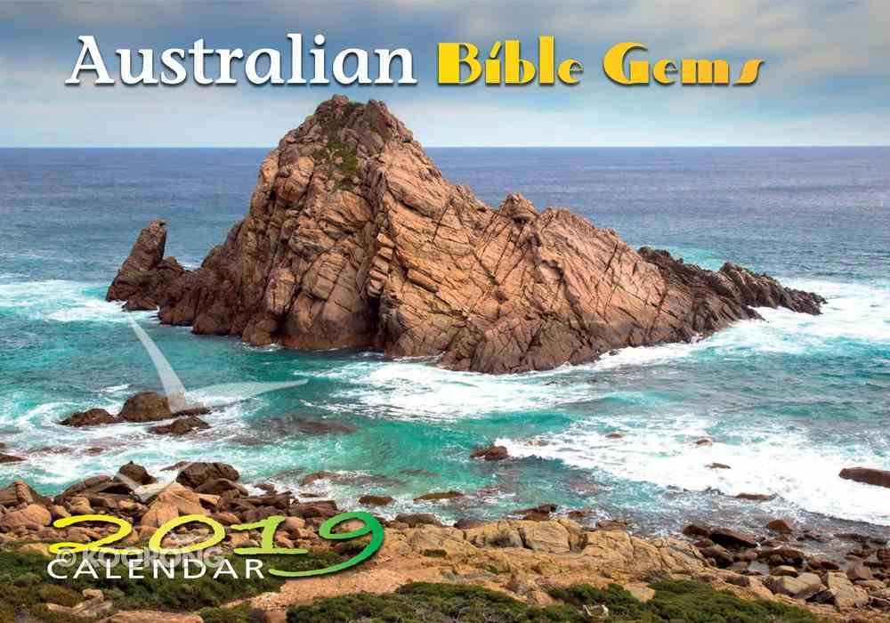 2019 Wall Calendar: Australian Bible Gems Calendar
