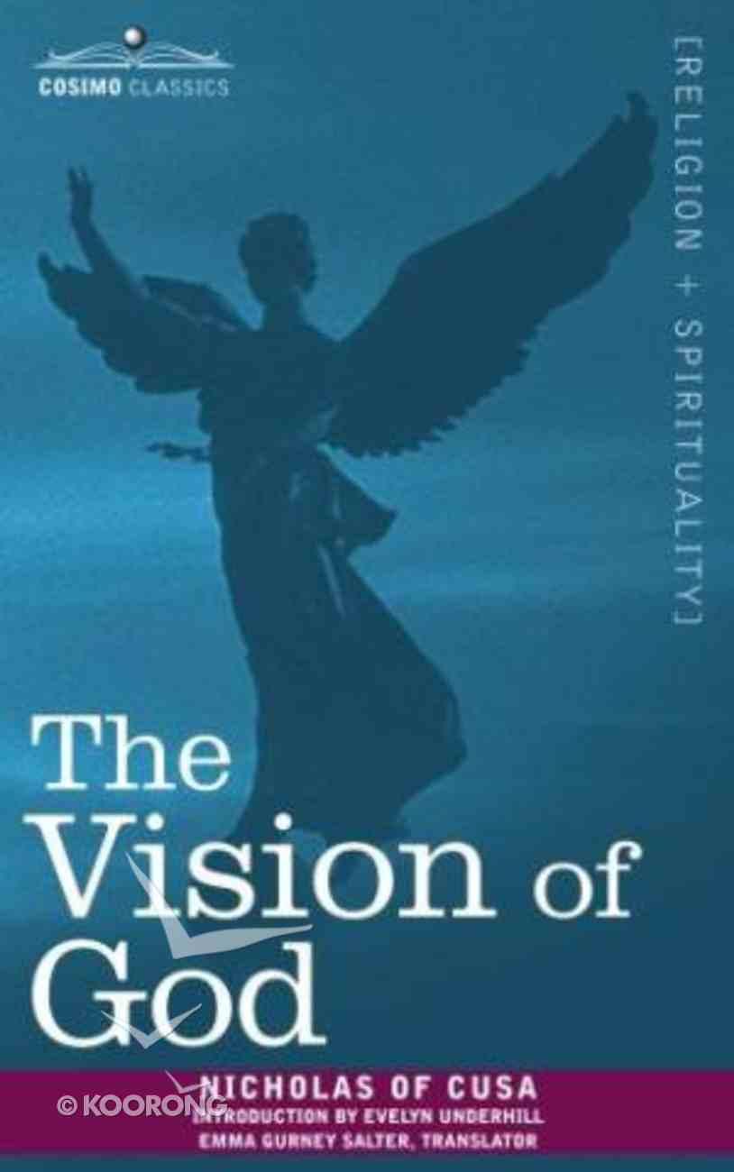 The Vision of God Paperback