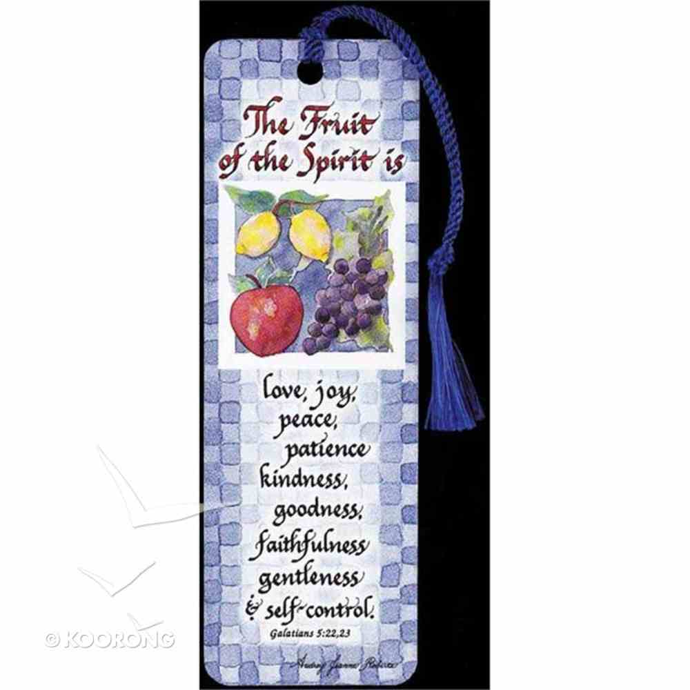 Bookmark With Tassel: The Fruit of the Spirit Stationery