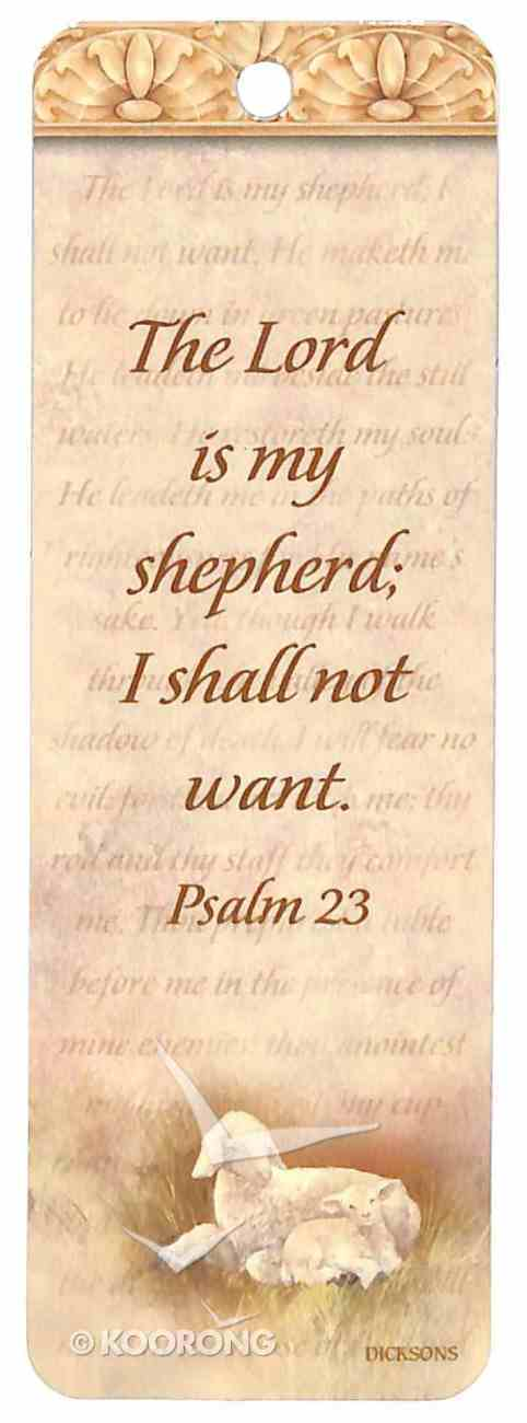 Bookmark: The Lord is My Shepherd, Psalm 23 Stationery