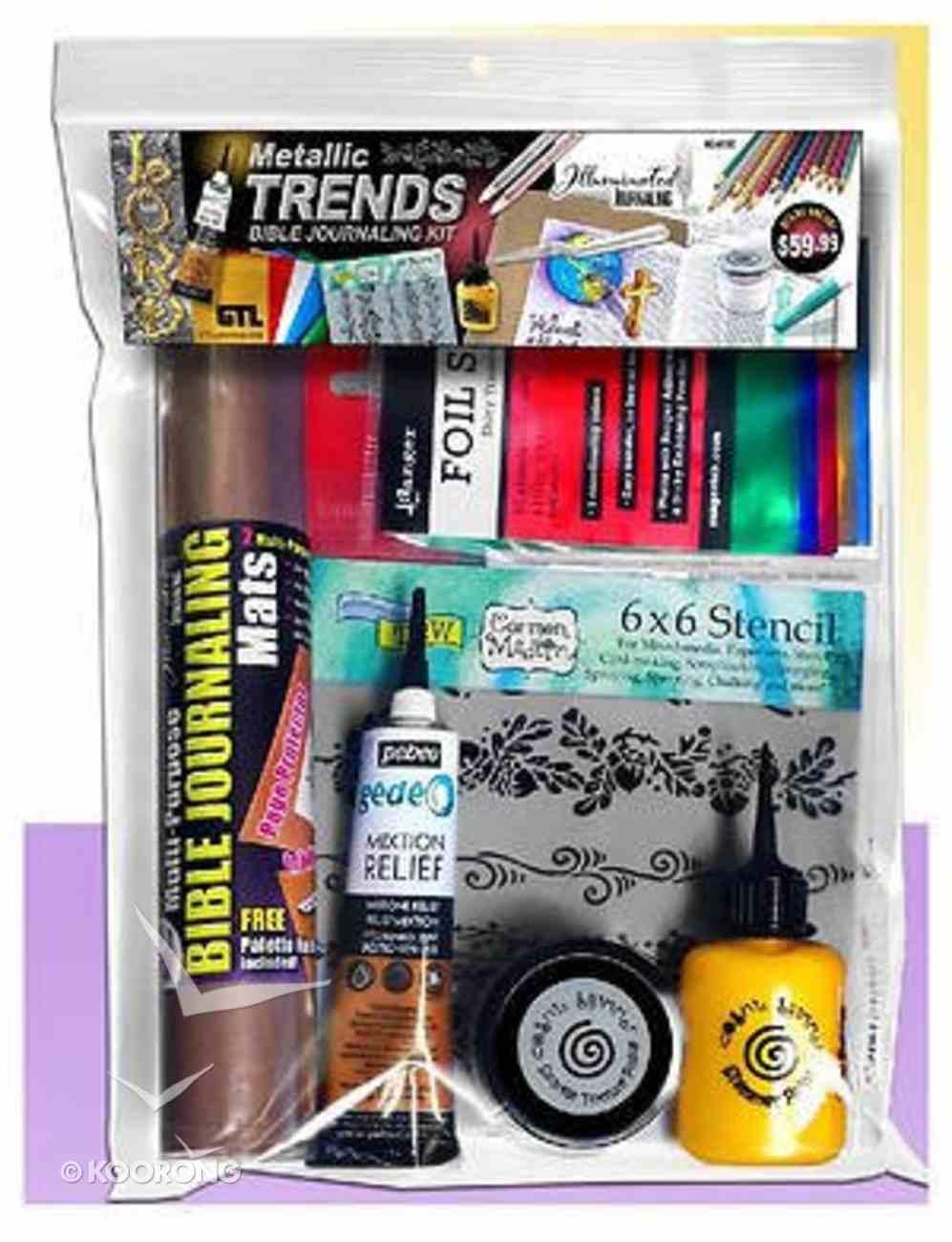 Illuminated Journaling: Bible Journaling Metallic Trends Kit Stationery