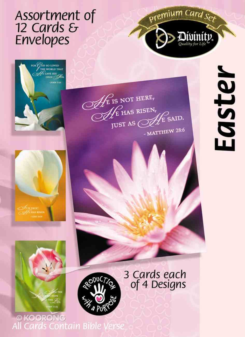 Easter Boxed Cards: Floral Box