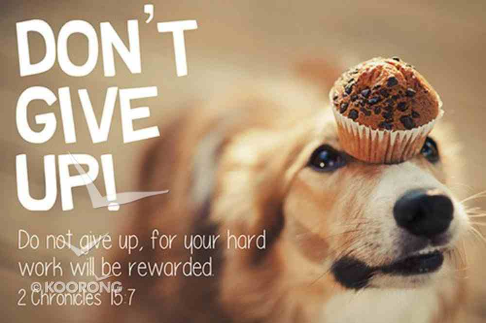 Poster Small: Don't Give Up! Poster