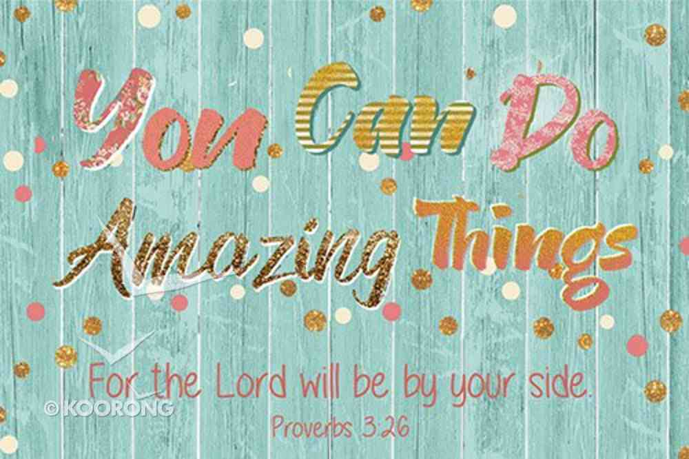 Poster Small: You Can Do Amazing Things Poster