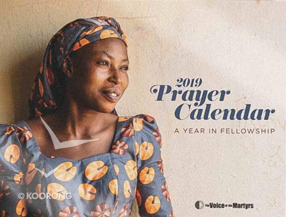 2019 Voice of the Martyrs Prayer Calendar, A4 Size Calendar