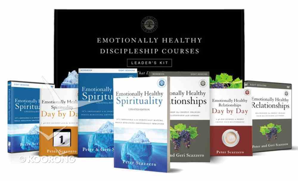 Emotionally Healthy Discipleship Courses Updated Edition (Leader's Kit) Paperback
