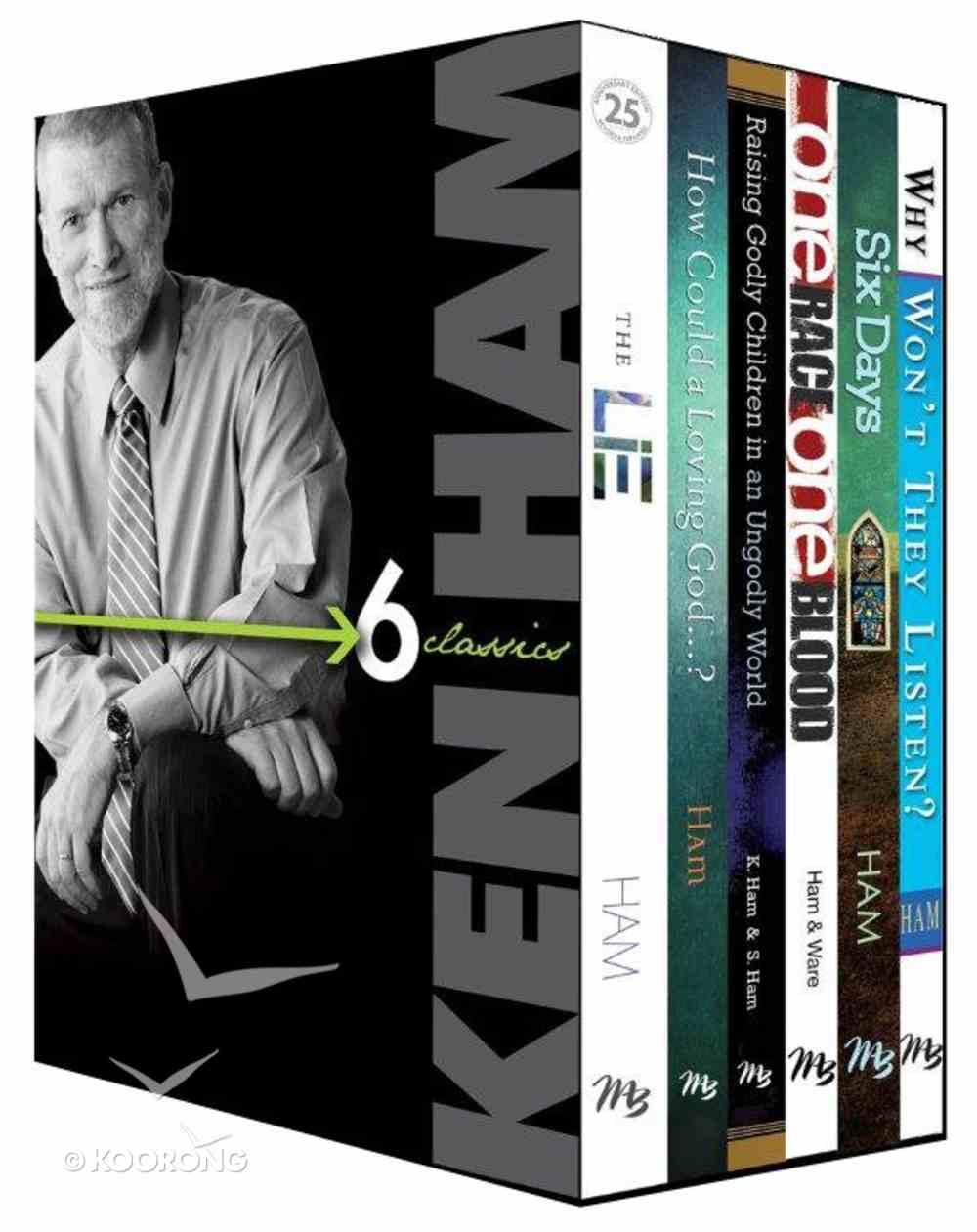 Ken Ham Classics 6-Pack (6 Vols) Box