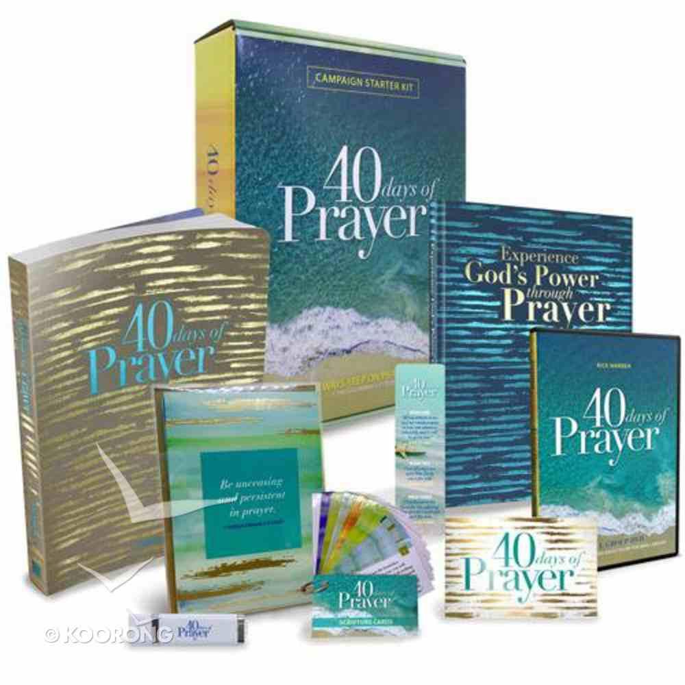 40 Days of Prayer (Campaign Starter Kit) Pack