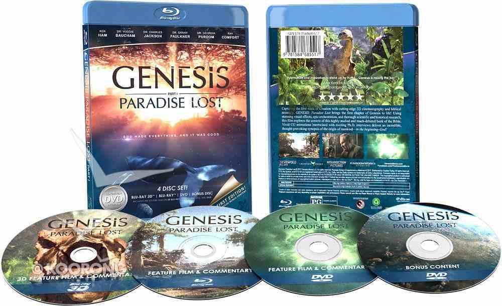 Genesis: Paradise Lost (4-disc Blu-ray Set) Blu-ray Disc
