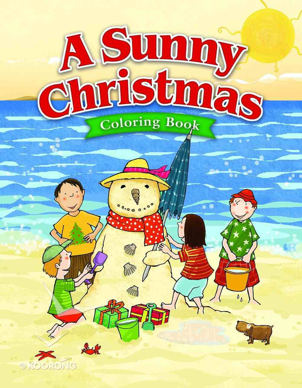 A Sunny Christmas (Ages 5-7 Reproducible) (Warner Press Colouring & Activity Books Series) Paperback