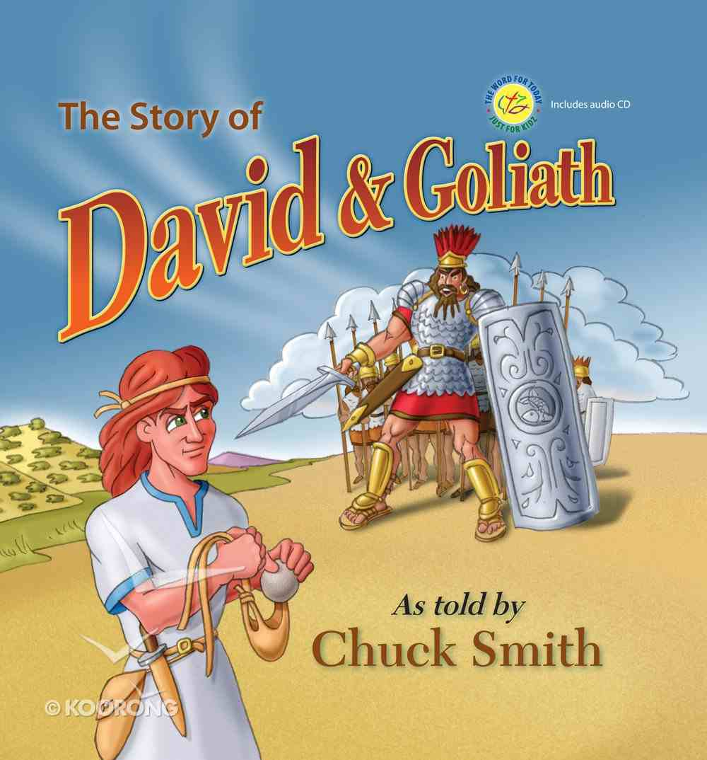 The Story of David and Goliath (With Cd) Hardback