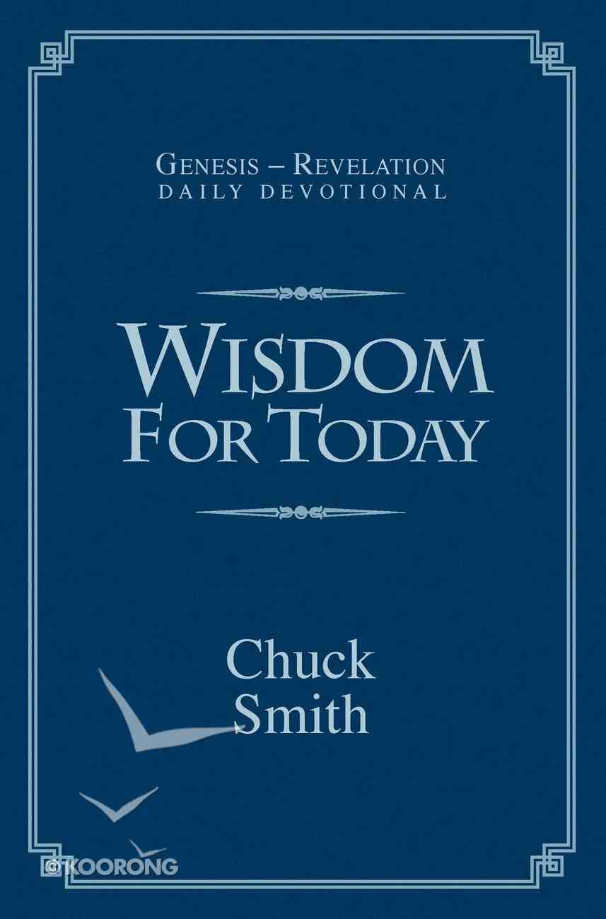 Wisdom For Today Daily Devotional Paperback