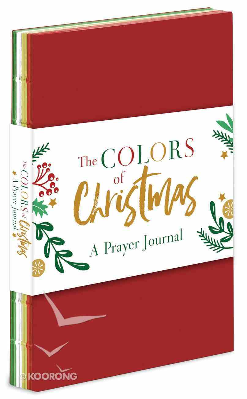 Colors of Christmas: A Prayer Journal Paperback
