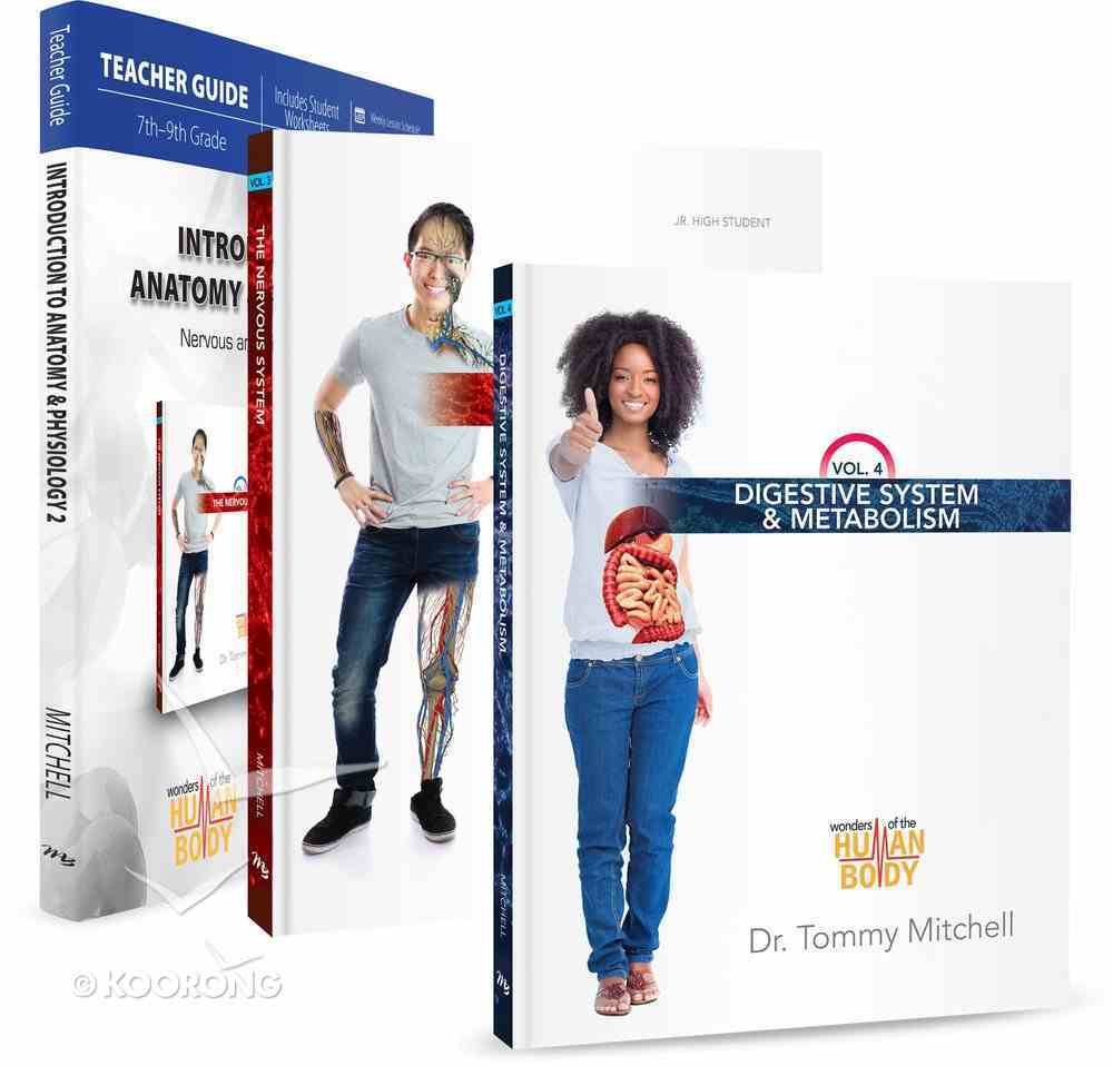 Introduction to Anatomy & Physiology Pack (Incl: Digestive System, Nervous System & the Teachers Guide) (Wonders Of The Human Body Series) Pack