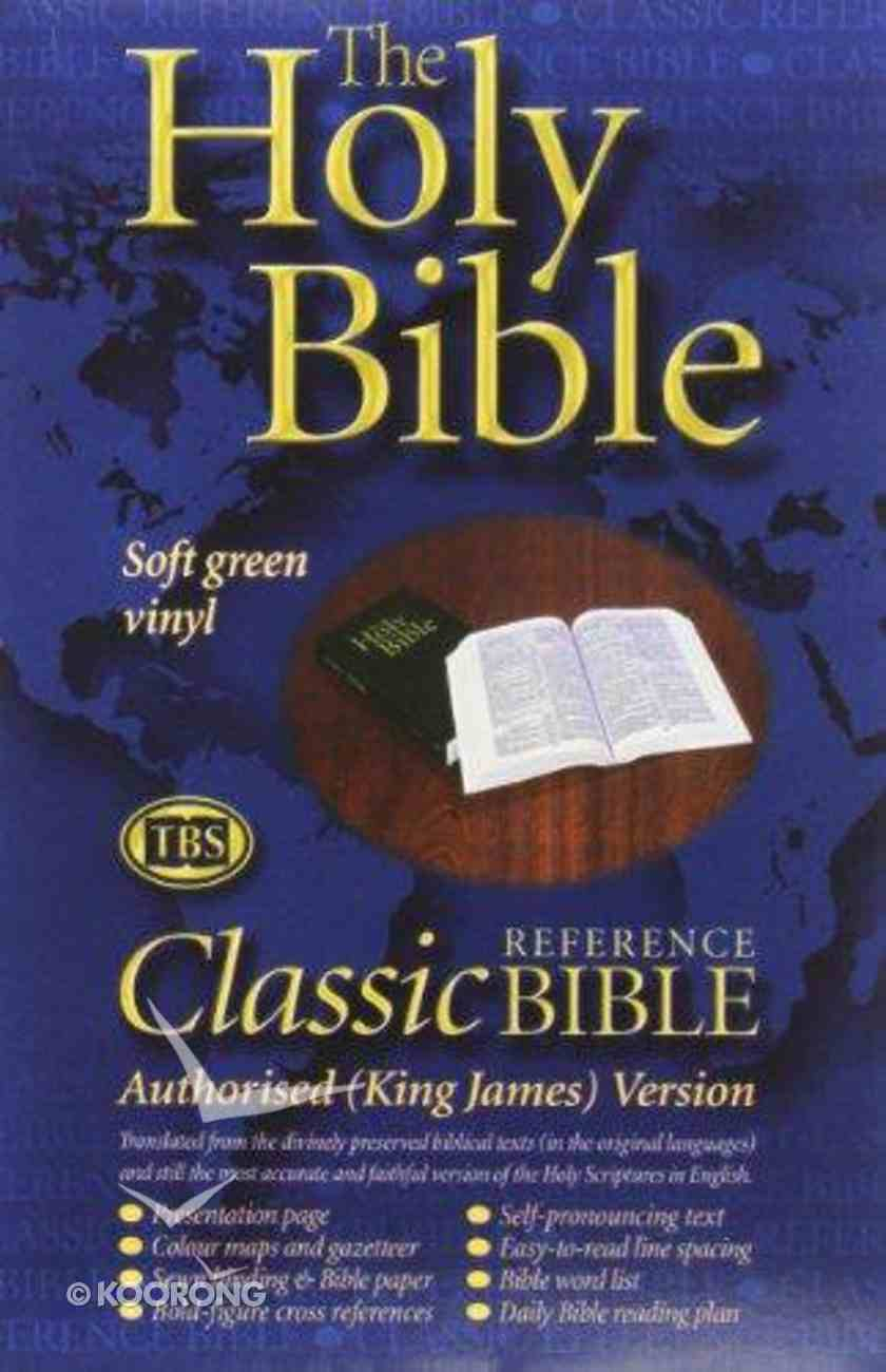 KJV Classic Reference Holy Bible Green (Black Letter Edition) Paperback