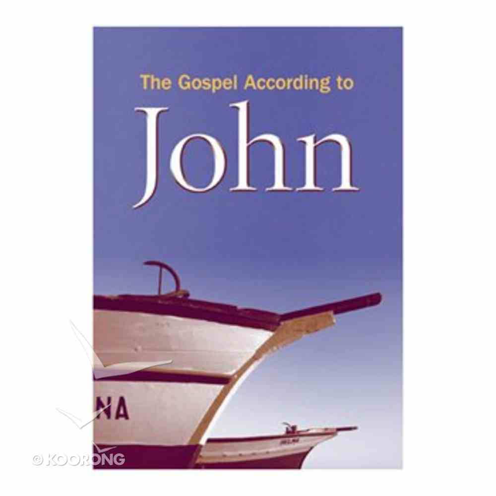 KJV Giant Print Gospel of John (Black Letter Edition) Paperback