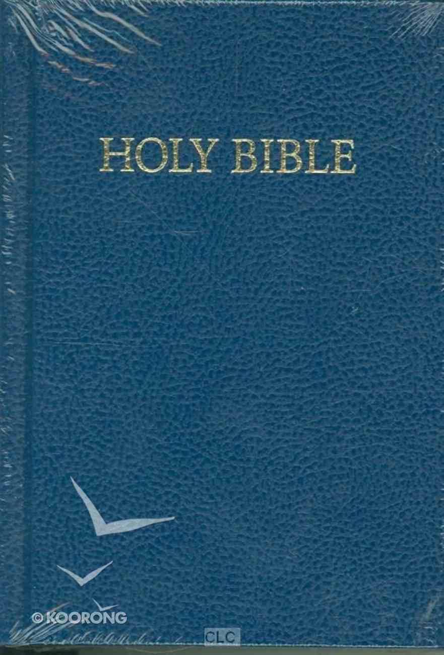 KJV Royal Ruby Holy Bible Compact Edition Blue (Black Letter Edition) Hardback