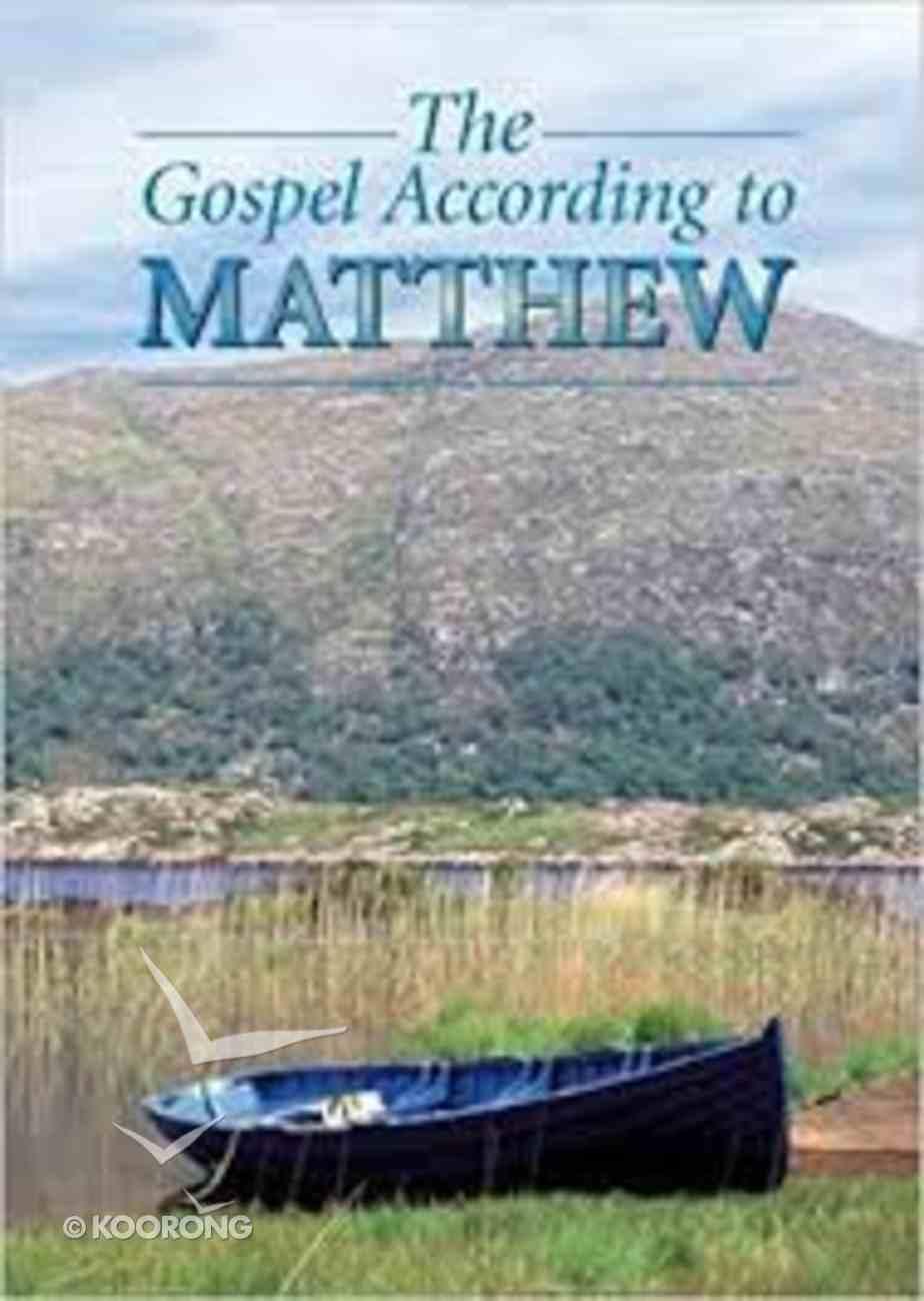 KJV Matthew's Gospel (Black Letter Edition) Paperback