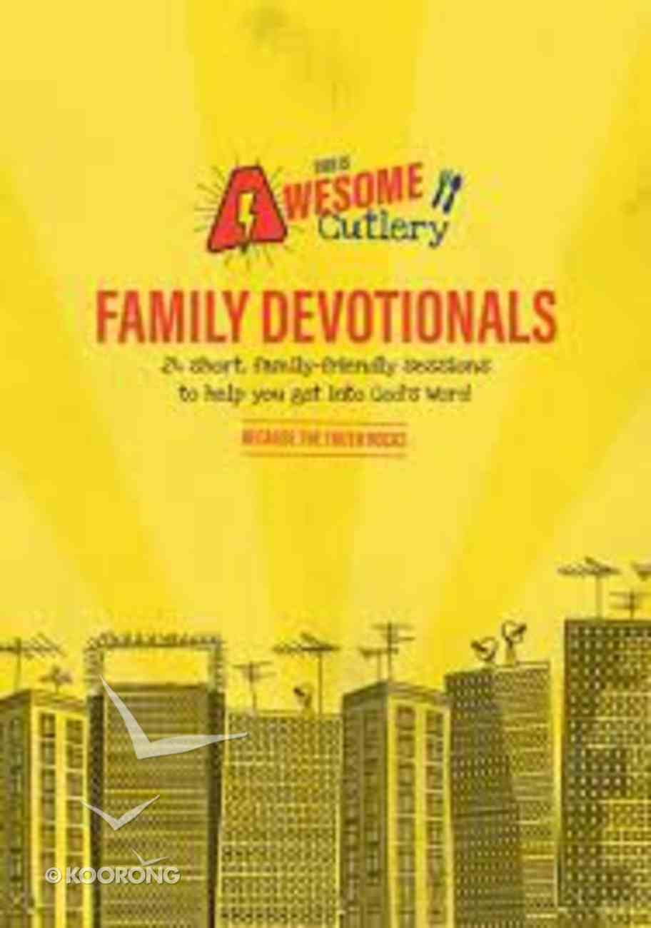 This is Awesome Cutlery (Family Devotional) Paperback