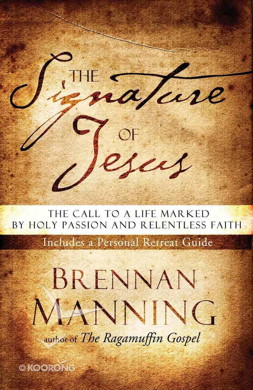 The Signature of Jesus Paperback