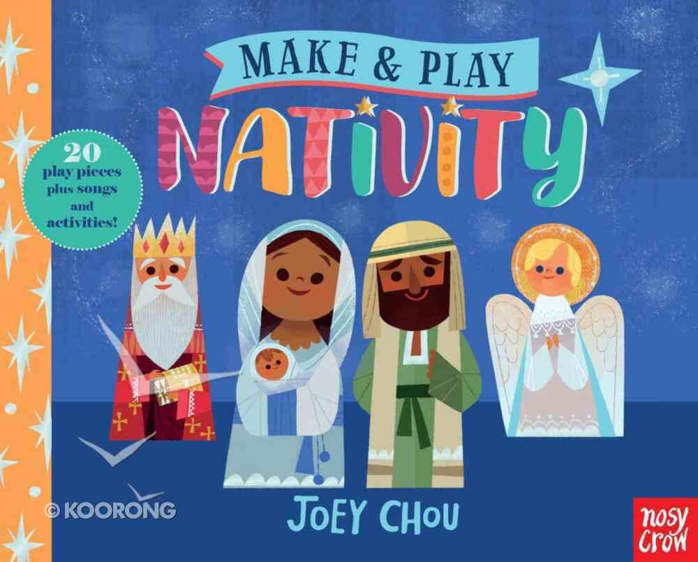 Make and Play: Nativity (20-piece Jigsaw, Plus Songs & Activities) Hardback