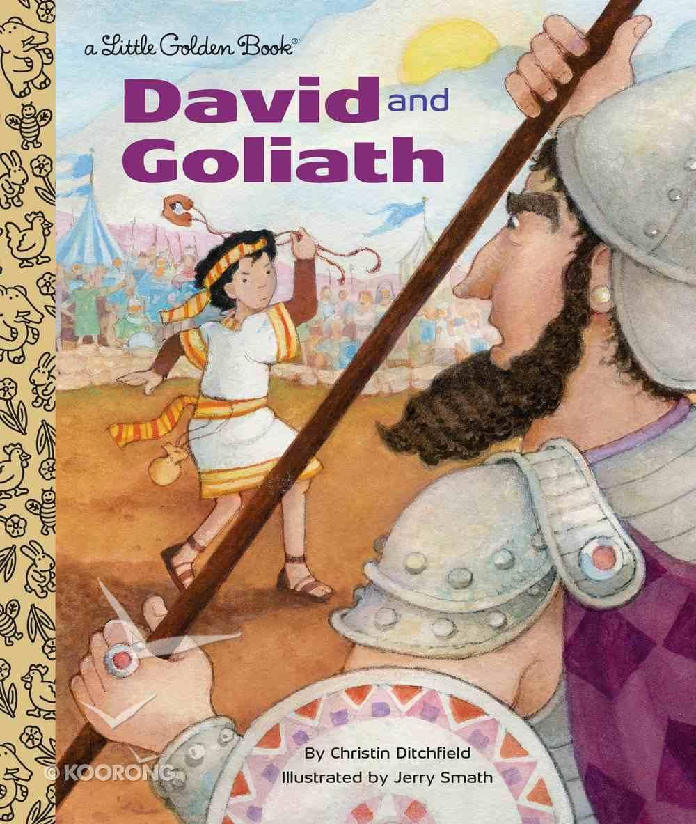 David and Goliath (Little Golden Book Series) Hardback