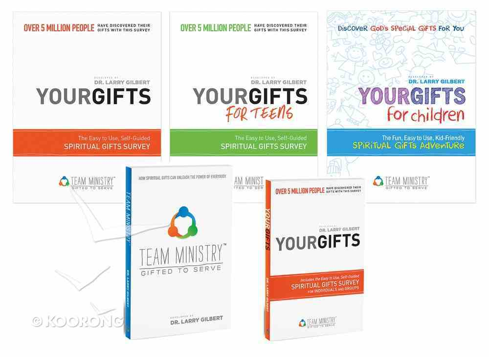 Team Ministry Gifted to Serve: Your Gifts (Sample Review Package of 5 Books) (Your Gifts Series) Paperback