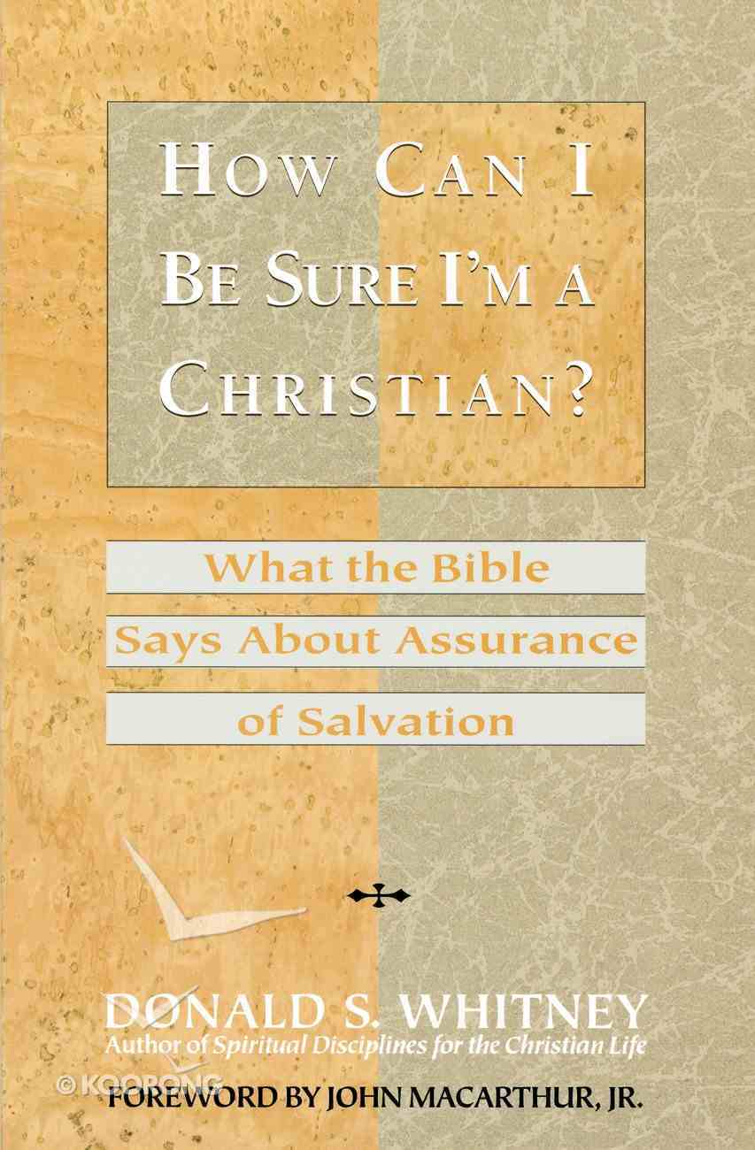 How Can I Be Sure I'm a Christian? Paperback