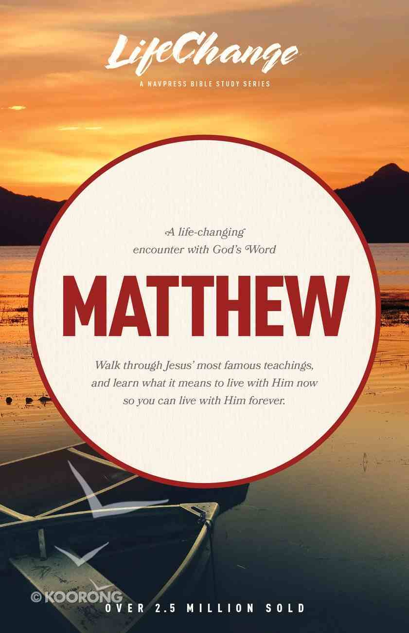 Matthew (Lifechange Study Series) Paperback