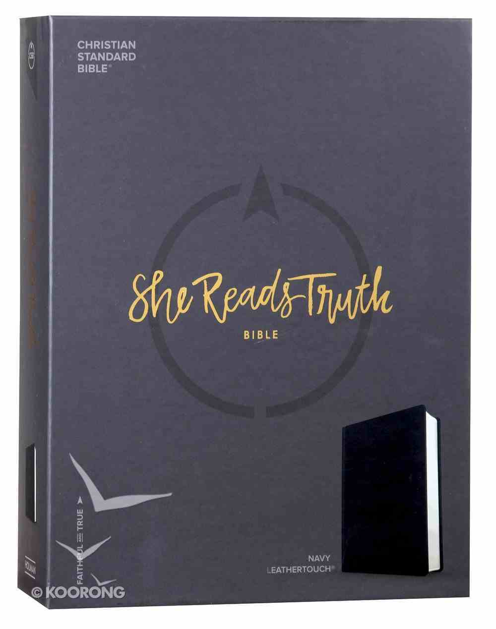 CSB She Reads Truth Bible Navy Imitation Leather